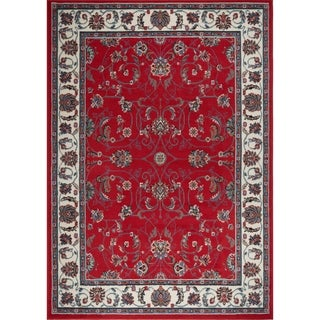 """Home Dynamix Premium Collection Traditional (5'2"""" X 7'4"""") Machine Made Polypropylene Area Rug"""