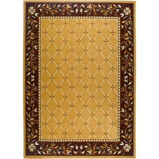 "Home Dynamix Premium Collection Transitional (5'2"" X 7'4"") Machine Made Polypropylene Area Rug"