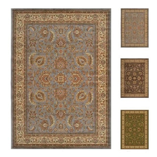 "Home Dynamix Royalty Collection Traditional (5'2"" X 7'2"") Machine Made Polypropylene Area Rug"