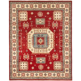 Ecarpetgallery Hand-knotted Finest Gazni Red Wool Rug (7'10 x 9'11)