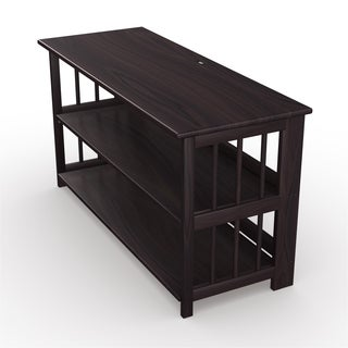 No Assembly TV Stand with USB Port (42 Inch Wide)