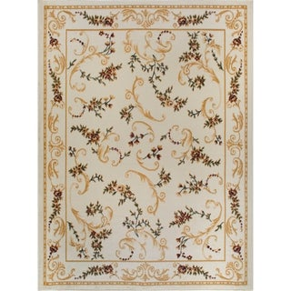 "Home Dynamix Optimum Collection Beige (21"" X 35"") Machine Made Polypropylene Accent Rug"