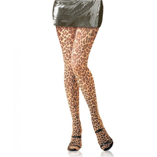 Women's Leopard Print Tights