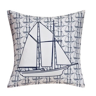 Swift Home Collection Fun Decorative Throw Pillow-boat