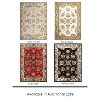 """Home Dynamix Reaction Collection Traditional (39"""" X 55"""") Machine Made Polypropylene Area Rug"""