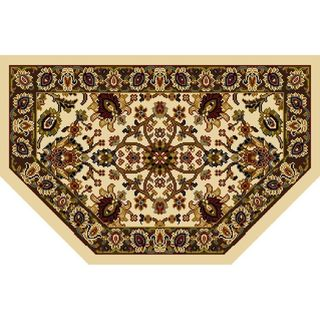 "Home Dynamix Royalty Collection Traditional (23.6""X39.3"") Hearth Machine Made Polypropylene Accent Rug"