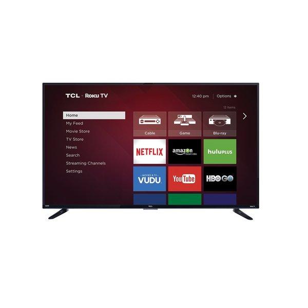 """TCL 55FS3750 55"""" 1080p LED-LCD TV - 16:9 - HDTV 1080p - High Glossy B"""