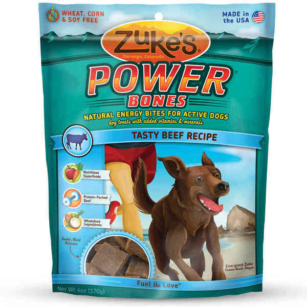 Zuke's Power Bones Natural Endurance Treats for Dogs 6 oz.