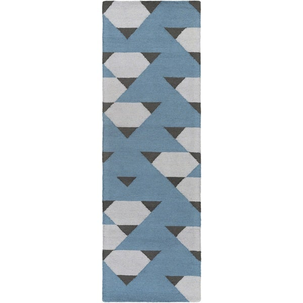 Hand Tufted Pine Wool Rug (2'3 x 10') 18081182
