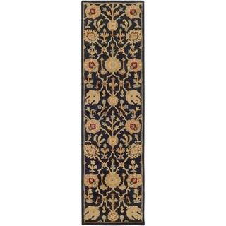 Hand-Tufted Blyth Floral Wool Rug (2'3 x 12')