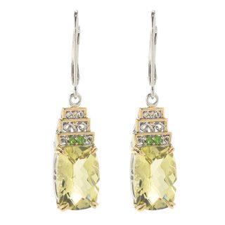 Michael Valitutti Ouro Verde with Chrome Diopsude Earrings