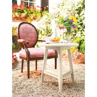Paula Deen Home Linen Finish Lamp Table