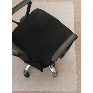 Mammoth 48 x 60-inch Polycarbonate Office Chair Mat for Low to Standard Pile Carpets