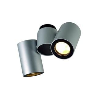 SLV Lighting Enola_B Spot 2 Silver Grey - Black Wall Ceiling Lamp