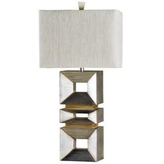 Palladium Silver Table Lamp