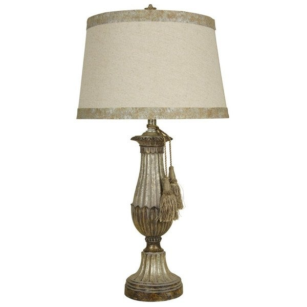 Classic Champagne Finish Table Lamp