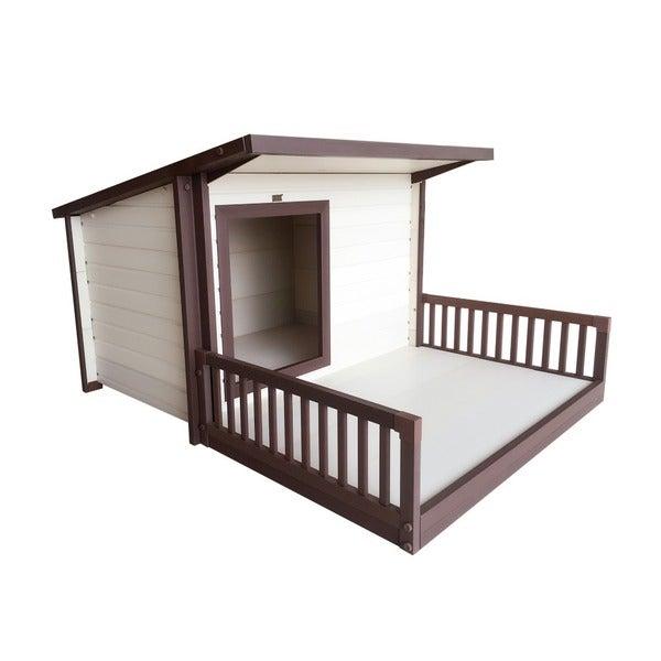 ecoFlex Santa Fe Chalet Style Dog House 18082588