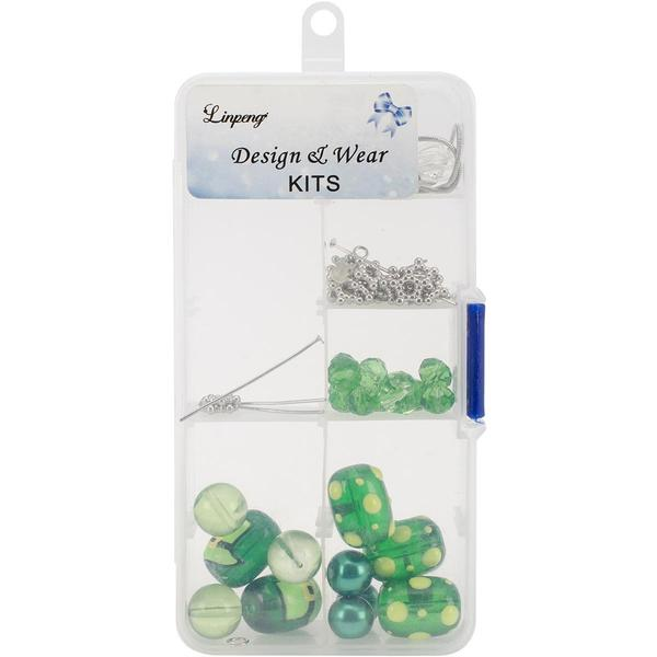Holiday Bead Kit - Green