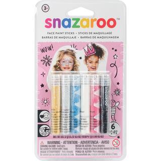 Snazaroo Face Painting Sticks 6/Pkg - Girls
