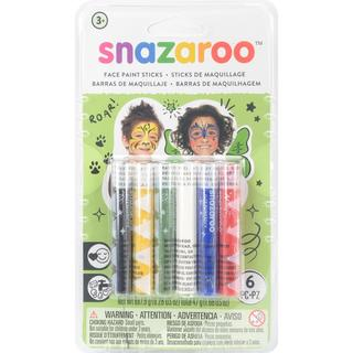 Snazaroo Face Painting Sticks 6/Pkg - Unisex