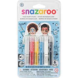 Snazaroo Face Painting Sticks 6/Pkg - Boys