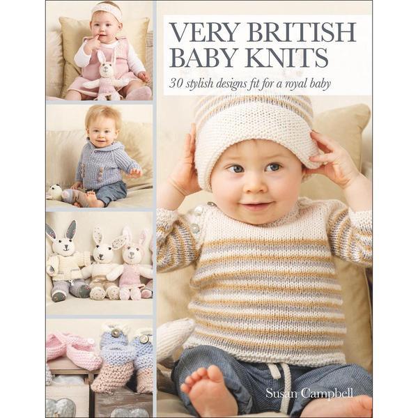 Search Press Books - Very British Baby Knits