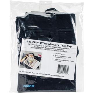 PROP-IT Needlework Tote Bag - Black