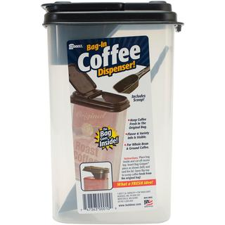 Buddeez 1.6qt Bag-In Coffee Dispenser W/Scoop - 8.5 X5.25 X3.75