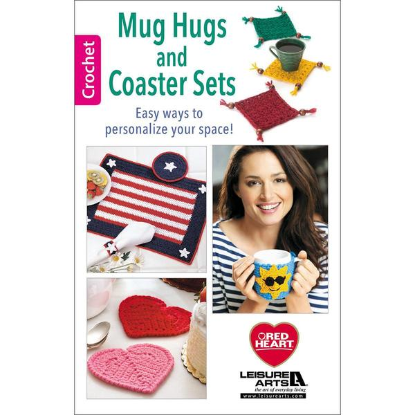 Leisure Arts - Mug Hugs And Coaster Sets