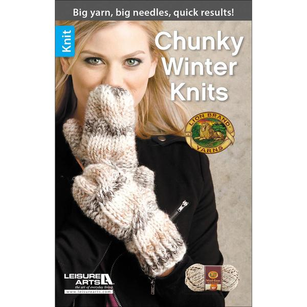 Leisure Arts - Chunky Winter Knits