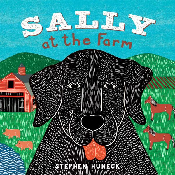 Abrams Books - Sally At The Farm