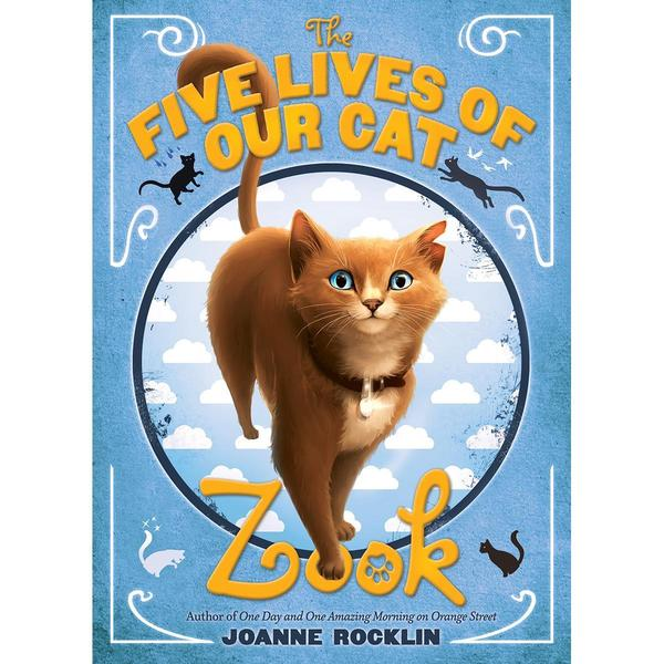 Abrams Books - The Five Lives Of Our Cat Zook