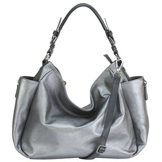 Hobo Pebble Leather Shoulder Bag