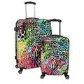Chariot Color Fusion 2-piece Hardside Lightweight Spinner Luggage Set