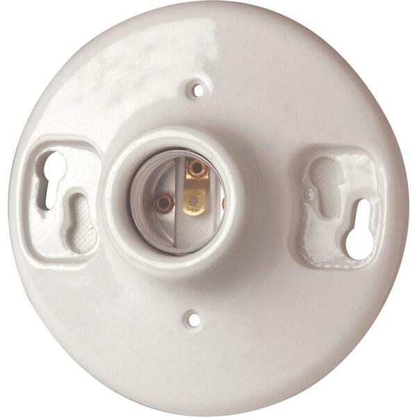 Leviton B01-09875-000 Porcelain Keyless Lampholder