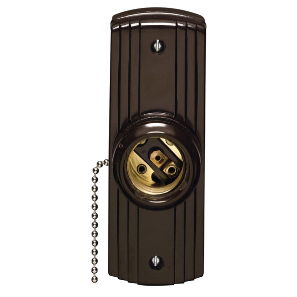 Leviton C20-05235-000 Pull Chain Lampholder