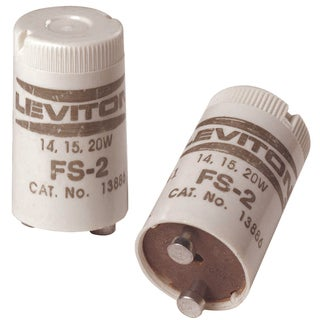 Leviton C21-12409-000 2-count 15 To 20 Watt Fluorescent Starters