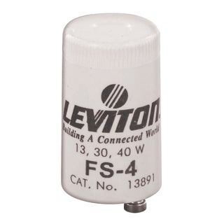 Leviton C21-12410-000 30 To 40 Watt Fluorescent Starters 2-count
