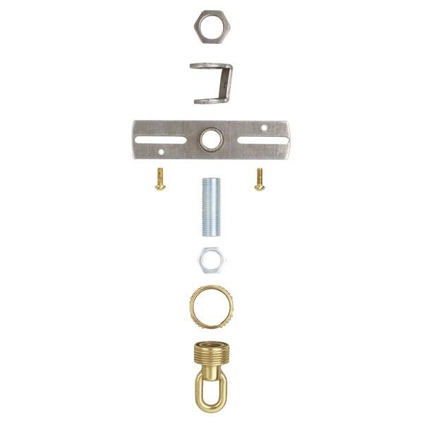 Westinghouse 7035200 Antique Brass Finish Screw Collar Loop Kit