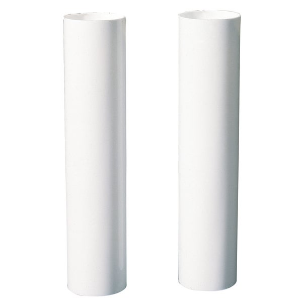 """Westinghouse 7037000 4"""" White Socket Covers 2-count"""