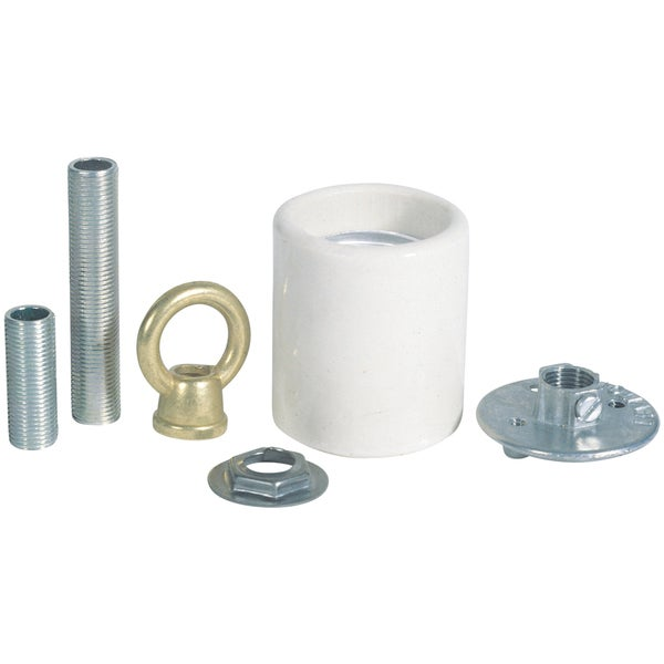 Westinghouse 7040800 Porcelain Keyless Socket Adaptor Kit