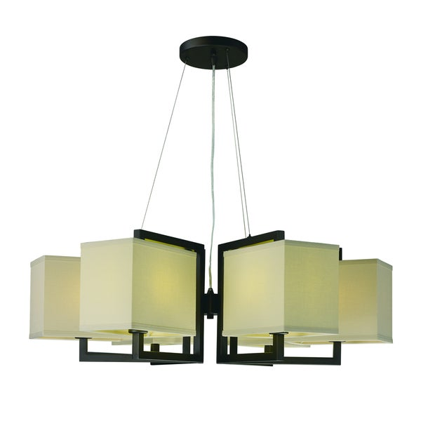 Maxim Baldwin Single 6-light Pendant