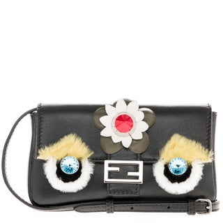 Fendi Micro 'Fashion Show' Jeweled Baguette