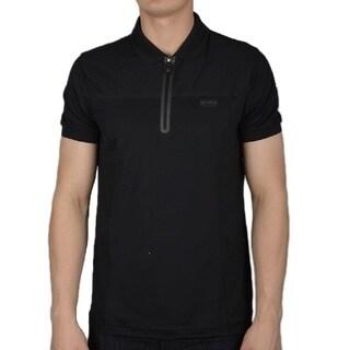 Hugo Boss Pavotech Black Polo T-Shirt