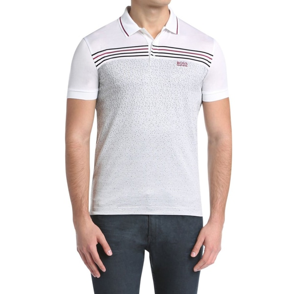 Hugo Boss Paddy 2 White Polo T-Shirt