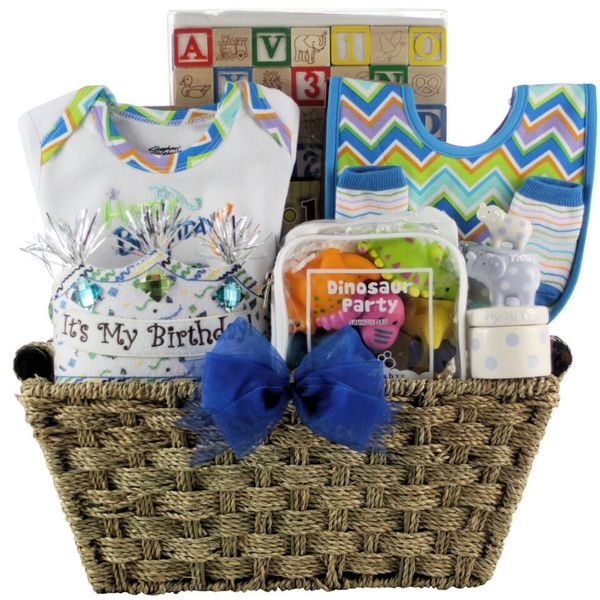 Baby's First Gift Basket Boy Large Gift Basket 18086716