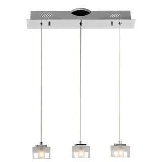 Kichler Lighting Contemporary 3-light Chrome Pendant
