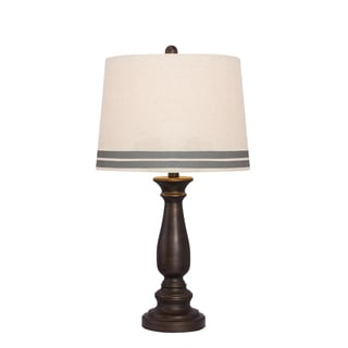 26-inch Oil Rubbed Bronze Table Lamp