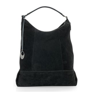 Phive Rivers Womens Leather Hobo Bag (Black) (PR1094)