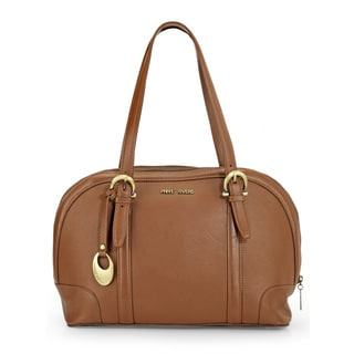 Phive Rivers Womens Leather Shoulder bag (Tan) (PR1100)